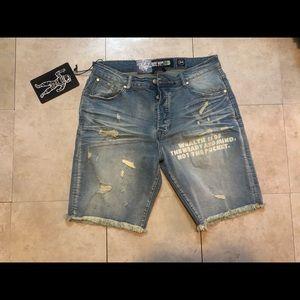 Billionaire Boys Club Jean Shorts